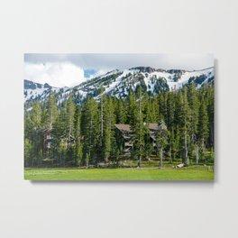 Kirkwood Mountain Resort, Eldorado National Forest, California Metal Print
