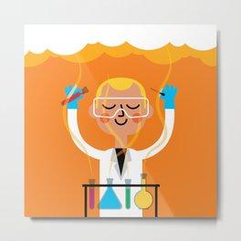 Science is Fun Metal Print