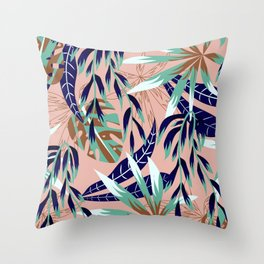 Abstract graphic nature 01 Throw Pillow
