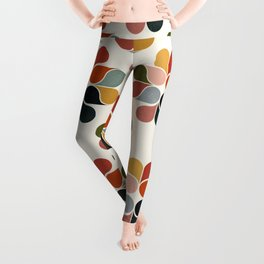 Retro geometry pattern Leggings