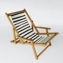 Sage Green x Stripes Sling Chair