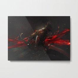 Artorias knight digital painting Metal Print