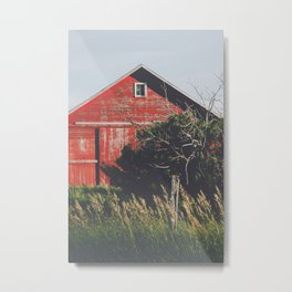 Country Red Metal Print