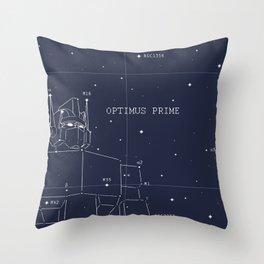 Optimus Star Chart Throw Pillow