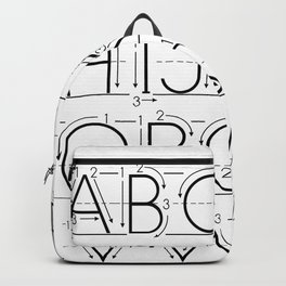 The Alphabet Backpack