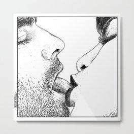 asc 561 - Le baiser corsaire (The corsair kiss) Metal Print