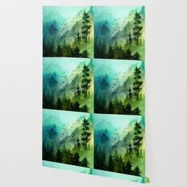 Mountain Morning Wallpaper