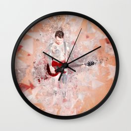 Strip Me Down Wall Clock
