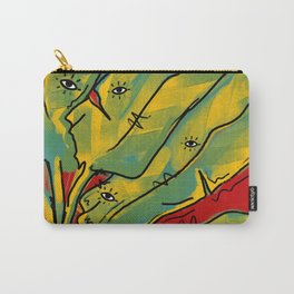 Missing Home - Banana leaves Carry-All Pouch