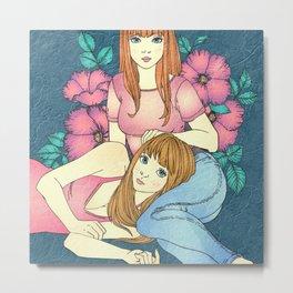 Sister Lover Metal Print