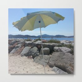 At the Bay of St. Tropez, France Metal Print