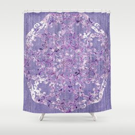 A Taste of Lilac Wine Shower Curtain
