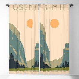 Yosemite Valley Blackout Curtain