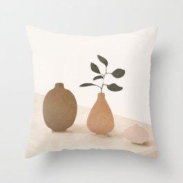 Vase Decoration III Throw Pillow