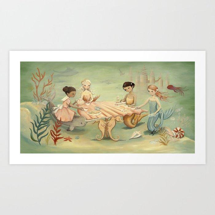 The Mermaid Dream by Emily Winfield Martin Art Print