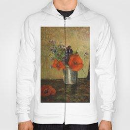 """Paul Gauguin """"Fleurs d'été dans un gobelet (Summer flowers in a pot)"""" Hoody"""