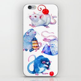 Sweet Rats iPhone Skin