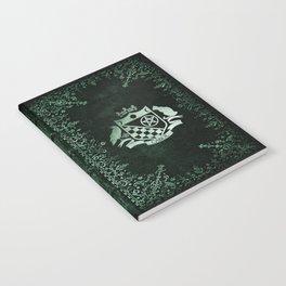 "Green Ornate ""Notebook of Shadows"" Notebook"