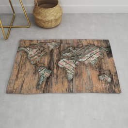 The Divided Continent Rug
