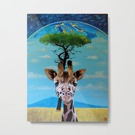 Earth Consciousness 19 Metal Print