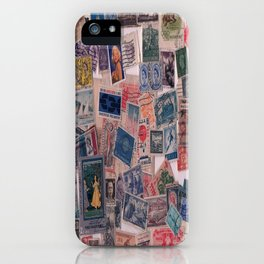 20th Century through stamps iPhone Case