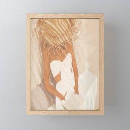 Summer Reading II Framed Mini Art Print