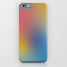 Abstract Gradient No. 11 iPhone Case