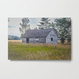 Abandoned Farm, Fort Clark, ND 2 Metal Print