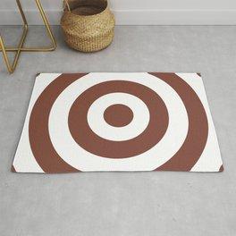Target (Brown & White Pattern) Rug