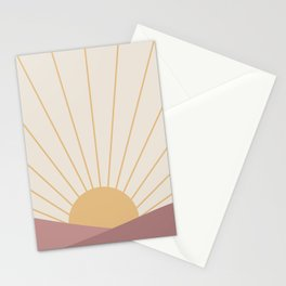 Morning Light - Pink Stationery Cards