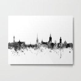 Stockholm Sweden Skyline Metal Print
