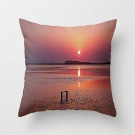 SUN Throw Pillow