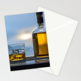 Evening Cocktail on Ice Stationery Cards