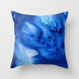 Ocean Blue Throw Pillow