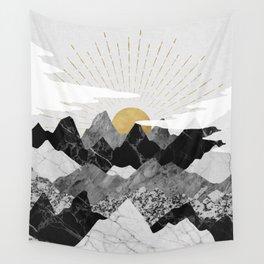 Sun rise Wandbehang