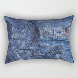 Big City Birds Rectangular Pillow