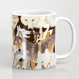 Wolves o´clock (Time to Wolf) Coffee Mug