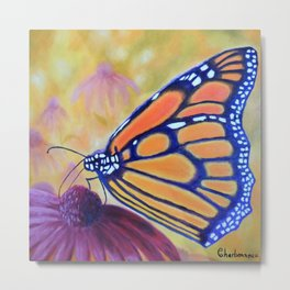 King of butterfly | Le roi des papillons Metal Print