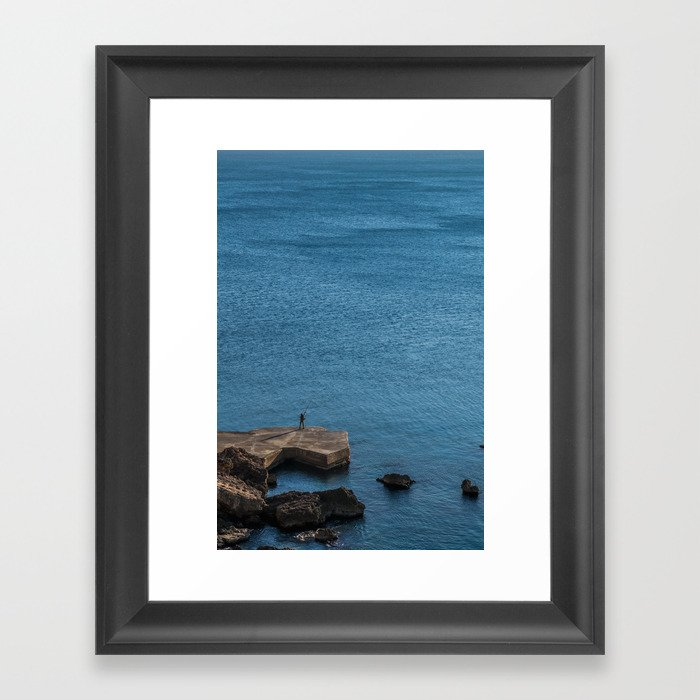 There are plenty of fish in the sea, kid Framed Art Print