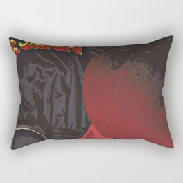 M.C. Shan / Down By Law album cover Rectangular Pillow