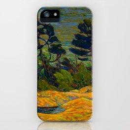 Tom Thomson Byng Inlet Georgian Bay winter 1914-1915 Canadian Landscape Artist iPhone Case