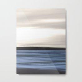 Sea Abstraction Metal Print