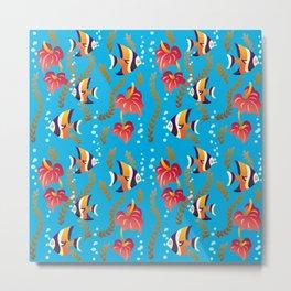 Fish Fun Metal Print