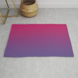 Pink Peacock Ultra Violet Gradient Pattern Rug