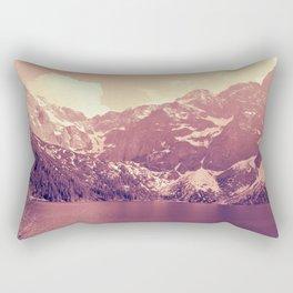 Vintage Landscape - Morskie Oko Rectangular Pillow