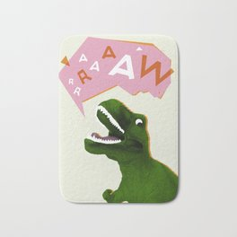 Dinosaur Raw! Bath Mat