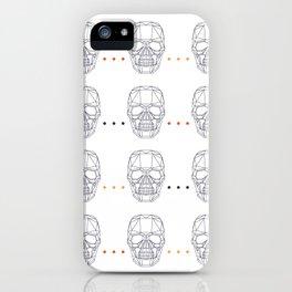 Skull Pattern iPhone Case
