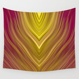 stripes wave pattern 3 ee Wall Tapestry
