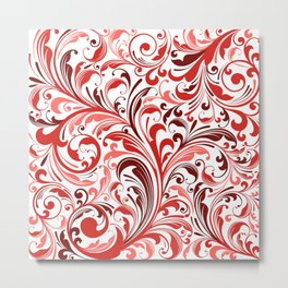 Abstract Floral 33 Metal Print