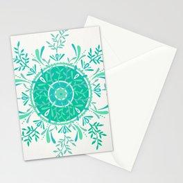 Leaflets – Mint Ombré Palette Stationery Cards